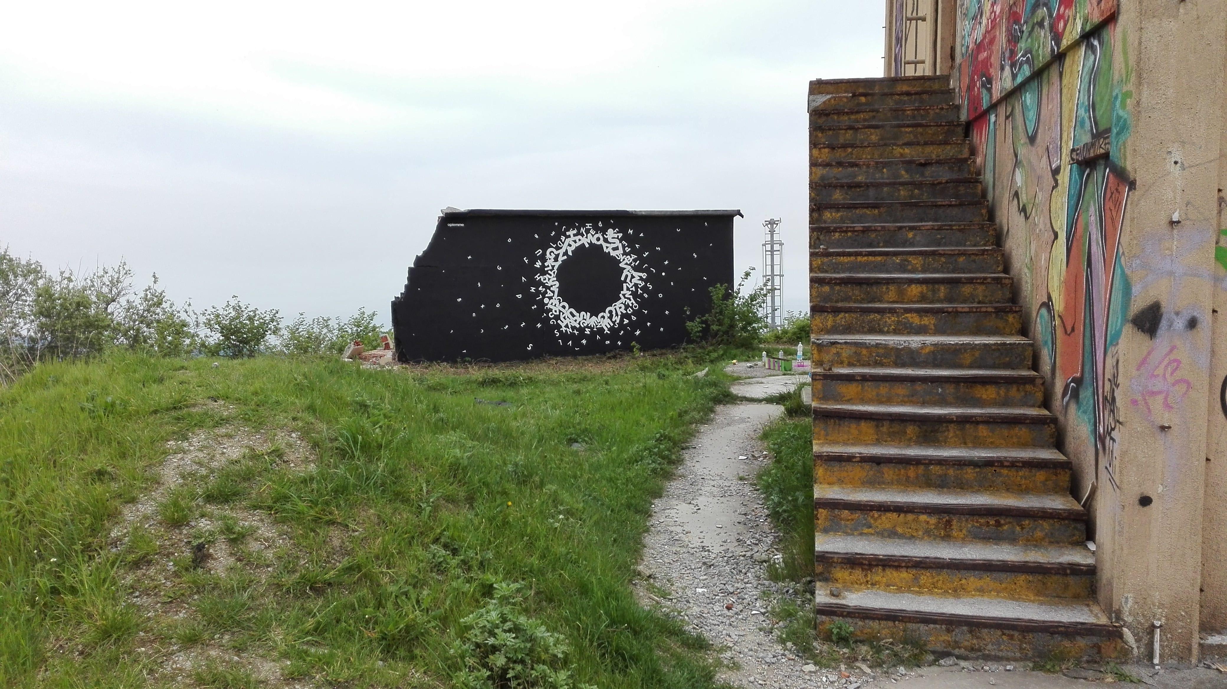 Opiemme, Circle, Pian dei Corsi, Finale Ligure Calice Ligure, 2017